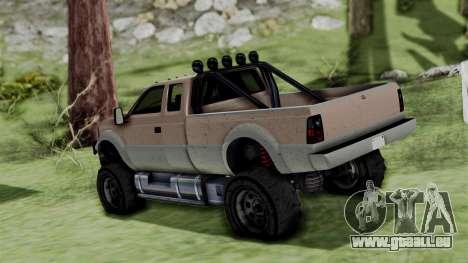GTA 5 Vapid Sandking pour GTA San Andreas laissé vue