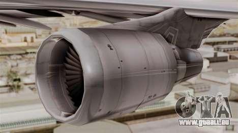 Boeing 747-400 Air India Old pour GTA San Andreas vue de droite