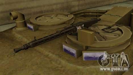 Leopard 1A5 für GTA San Andreas Rückansicht