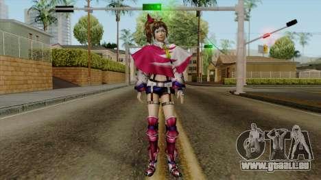 Sengoku Musou 3 - Kunoichi für GTA San Andreas zweiten Screenshot