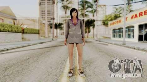 Kokoro Business Suit pour GTA San Andreas deuxième écran