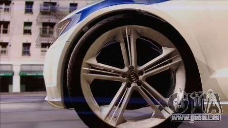Audi A6 DPS pour GTA San Andreas vue arrière