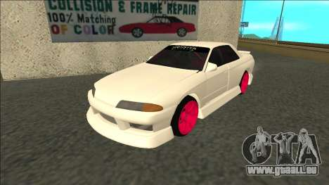 Nissan Skyline R32 Sedan Monster Energy Drift für GTA San Andreas