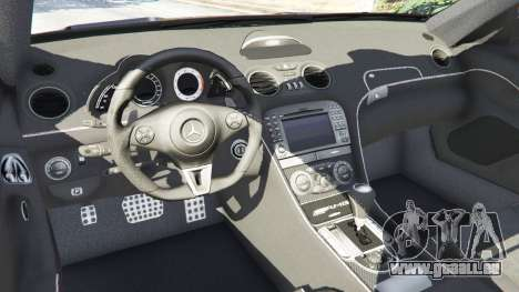 Mercedes-Benz SL 65 AMG Black Series pour GTA 5