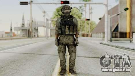 Derek Frost from CoD MW3 pour GTA San Andreas deuxième écran