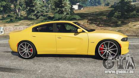 Dodge Charger RT 2015 v1.3 für GTA 5