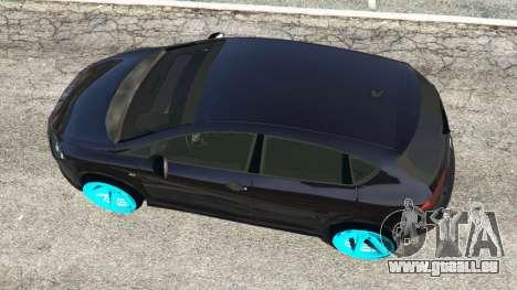 GTA 5 SEAT Leon II 2010 [Beta] Rückansicht
