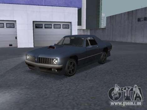 New Stallion pour GTA San Andreas vue de côté