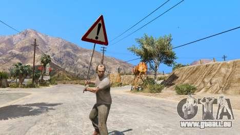 GTA 5 Panneau routier deuxième capture d'écran