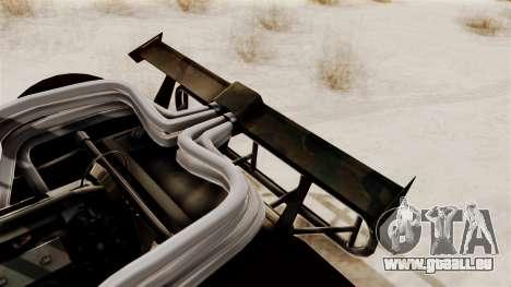 Camo Flip Car für GTA San Andreas rechten Ansicht