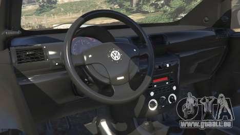 GTA 5 Volkswagen Fox v1.1 rechte Seitenansicht