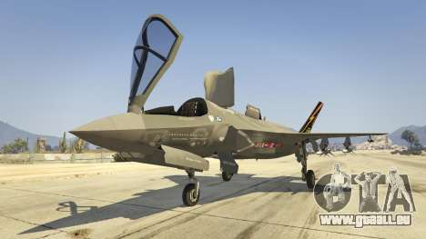 GTA 5 F-35B Lightning II (VTOL) Siebter Screenshot