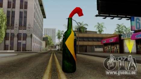Brasileiro Molotov Cocktail v2 pour GTA San Andreas deuxième écran