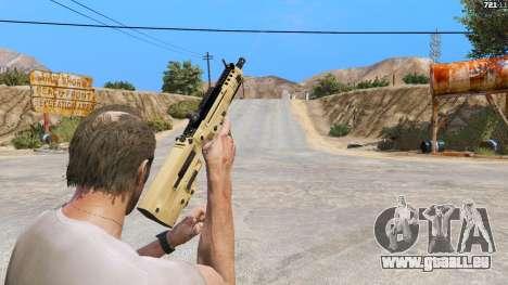 TAR-21 из Battlefield 4 für GTA 5