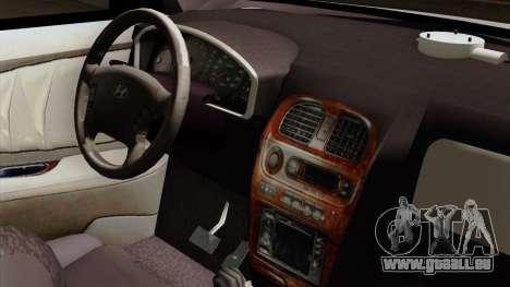 Hyundai Accent pour GTA San Andreas vue de droite