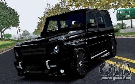Mercedes Benz G65 Black Star Edition für GTA San Andreas