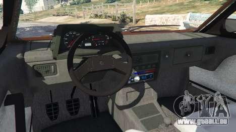 Volkswagen Gol GL 1.8 pour GTA 5
