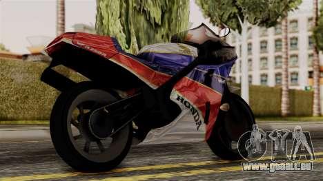 Honda VFR 750R pour GTA San Andreas laissé vue