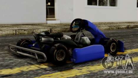 Crash Team Racing Kart für GTA San Andreas linke Ansicht