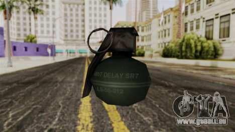 Frag Grenade from Delta Force pour GTA San Andreas deuxième écran