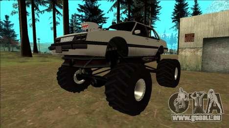 Willard Monster pour GTA San Andreas vue de côté