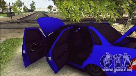 VAZ 2170 Vip-Stil für GTA San Andreas rechten Ansicht