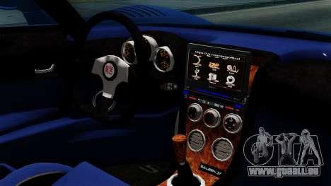 Saleen S7 pour GTA San Andreas vue de droite