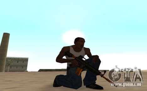 Nitro Weapon Pack pour GTA San Andreas troisième écran