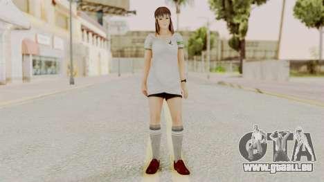 DOA 5 Hitomi Soccer pour GTA San Andreas deuxième écran