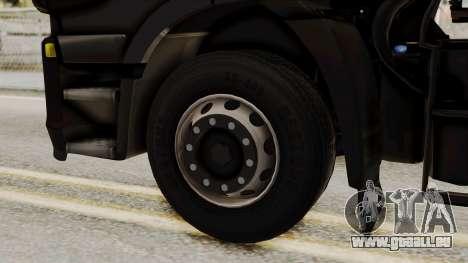 Iveco Truck from ETS 2 v2 für GTA San Andreas zurück linke Ansicht
