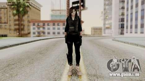Christy Battle Suit 2 (Resident Evil) für GTA San Andreas zweiten Screenshot