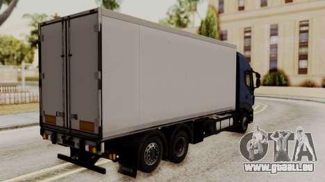 Iveco Truck from ETS 2 pour GTA San Andreas laissé vue