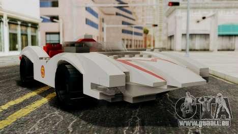 Lego Mach 5 für GTA San Andreas