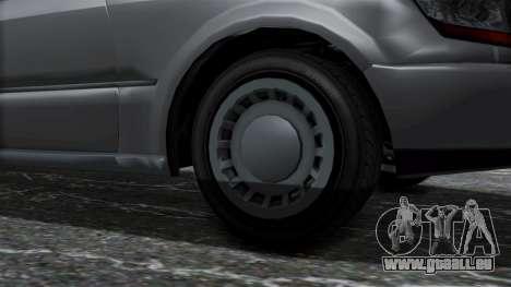 GTA 5 Albany Romero IVF pour GTA San Andreas sur la vue arrière gauche