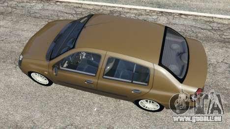 Renault Symbol 1.4L pour GTA 5