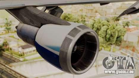 Boeing 747-200 China Airlines Dreamliner pour GTA San Andreas vue de droite