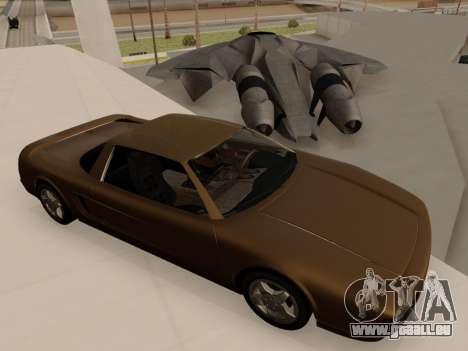 Infernus PFR v1.0 final pour GTA San Andreas vue de droite