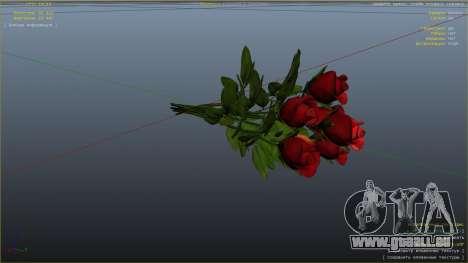 Ein Strauß Blumen für GTA 5