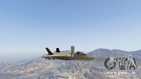 GTA 5 F-35B Lightning II (VTOL) neunter Screenshot
