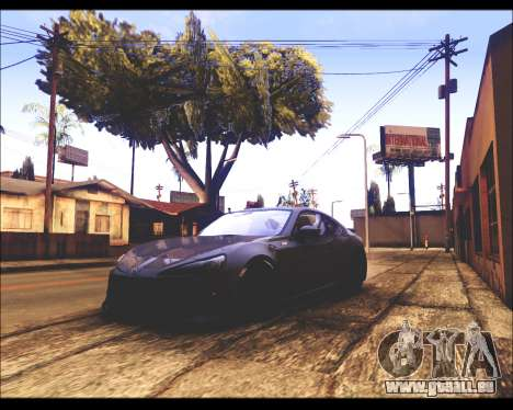REXAS ENB v1 pour GTA San Andreas troisième écran