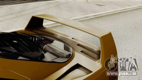 Ferrari F40 1987 HQLM pour GTA San Andreas vue intérieure