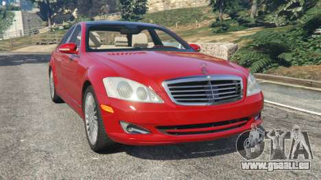 Mercedes-Benz S550 W221 v0.4.1 [Alpha] pour GTA 5