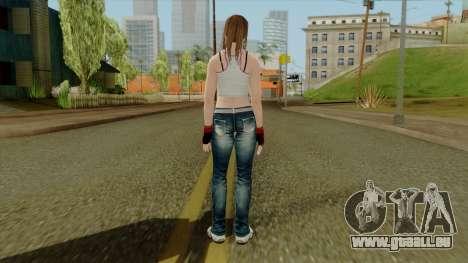 Dead Or Alive 5 Hitomi 1st Cos pour GTA San Andreas troisième écran