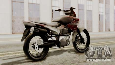 Honda NX400 Falcon pour GTA San Andreas laissé vue