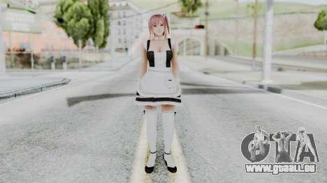 DOA 5 Honoka Maid für GTA San Andreas zweiten Screenshot
