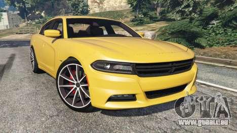 Dodge Charger RT 2015 v1.3 für GTA 5