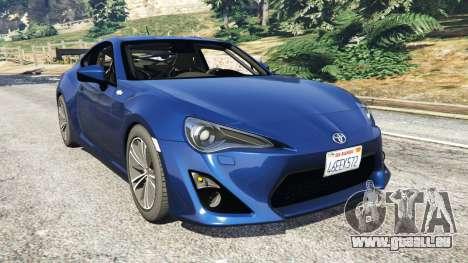 Toyota GT-86 v1.3 pour GTA 5