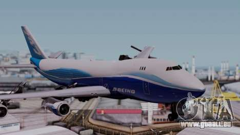 Boeing 747-400 Dreamliner Livery pour GTA San Andreas