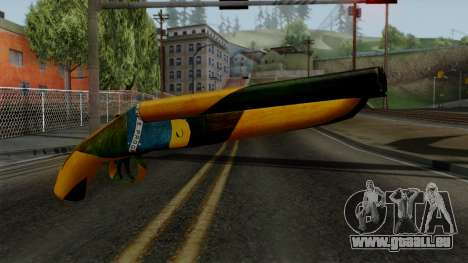 Brasileiro Sawnoff Shotgun v2 für GTA San Andreas