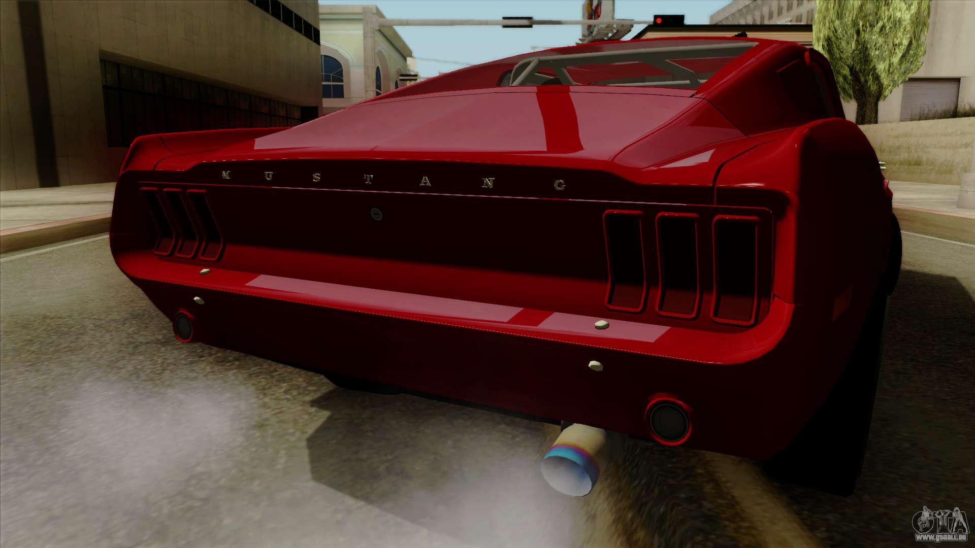 ford mustang fastback pour gta san andreas. Black Bedroom Furniture Sets. Home Design Ideas
